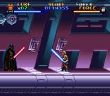 Super Star Wars: The Empire Strikes Back SNES ...but is he ready for the final confrontation with Darth Vader? We'll see!