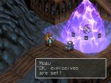 Breath of Fire III PlayStation The game's first scene: a little dragon is being released from the ice...