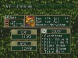 Breath of Fire III PlayStation Character's personal attributes