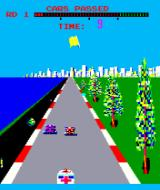 Turbo Arcade Yellow flag is out.