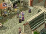 Breath of Fire IV PlayStation A busy market street in one of the towns in the southern part of the large continent
