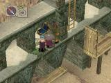 Breath of Fire IV PlayStation Ruins dungeon with ladders and treasure chests