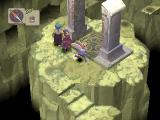 Breath of Fire IV PlayStation Cliffs and ancient pillars...