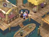 Breath of Fire IV PlayStation Chiqua - a colorful, original town on a lake