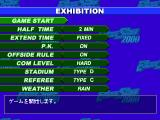 International Soccer Excite Stage 2000 PlayStation Exhibition.