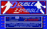 Double Dribble Amiga Title screen