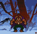 Disney's Beauty and the Beast: A Board Game Adventure Game Boy Color Fight off the wolves.