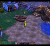 Dragon Warrior VII PlayStation The starting town on the only island the world initially consists of. You can rotate the camera to the sides