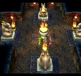 Dragon Warrior VII PlayStation A gorgeous dungeon with statues. What awaits me here?..