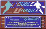 Double Dribble Commodore 64 Title screen