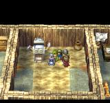 Dragon Warrior VII PlayStation This is one of the very few sci-fi elements in a Dragon Quest game! Check it out - a robotic maid!..