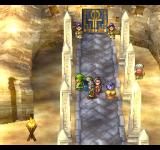 Dragon Warrior VII PlayStation One of the rare non-European-style locations in a Dragon Quest game. Desert, sandstorm, and an ankh on the door - yeah, I think I know which culture it is