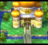 Dragon Warrior VII PlayStation One of the several locations that looks like Orthodox churches - this here is actually the famous palace of the Medal King, present in several other Dragon Quest games