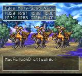 Dragon Warrior VII PlayStation Poison fields encounter with some angry-looking birdies... or whatever they are
