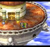 Dragon Warrior VII PlayStation The famed Sky Castle! Love the view. Seriously, how much is the rent?