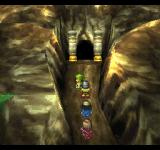 Dragon Warrior VII PlayStation One of the few places where 3D is actually used to convey the feeling of an extra dimension. This is the entrance to a volcano dungeon