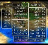 Dragon Warrior VII PlayStation Relaxing on a tropical beach, watching my attributes... those years of hard work have certainly paid off
