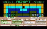 Archon II: Adept Amiga Game options