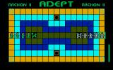 Archon II: Adept Amiga The gameplay screen