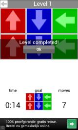 Arrow Slider Android Completed the first level
