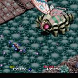 Viewpoint Sharp X68000 Third boss is a giant moth with butterfly wings