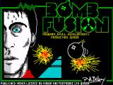 Bomb Fusion ZX Spectrum Title screen