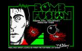 Bomb Fusion Amstrad CPC Title screen