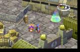 Grandia PlayStation Docks area with a save point