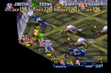 Grandia PlayStation Battle in the Tower of Temptation. No, it's not at all what you've just thought. We just get cornered by aggressive enemies a lot