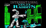 International Ninja Rabbits Amstrad CPC Loading Screen.