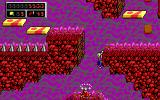 Commander Keen: Aliens Ate My Babysitter! DOS While climbing... (EGA)