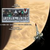 Phalanx Sharp X68000 Title screen