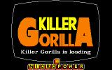 Killer Gorilla Amstrad CPC Loading Screen.