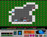 4-Get-It Amiga This level introduces the bomb tiles which explode when they are cleared.
