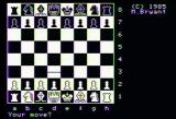 Colossus Chess 4 Apple II The board