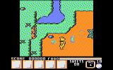 Yogi Bear & Friends in the Greed Monster: A Treasure Hunt Atari 8-bit Game start up