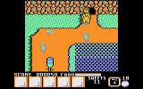Yogi Bear & Friends in the Greed Monster: A Treasure Hunt Atari 8-bit Energy power up on the left
