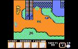 Yogi Bear & Friends in the Greed Monster: A Treasure Hunt Atari 8-bit Exit from the village
