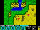 Yogi Bear & Friends in the Greed Monster: A Treasure Hunt ZX Spectrum Start up position