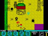 Yogi Bear & Friends in the Greed Monster: A Treasure Hunt ZX Spectrum Red roof well