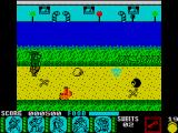 Yogi Bear & Friends in the Greed Monster: A Treasure Hunt ZX Spectrum Narrow guarded passage