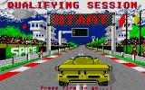 Fast Lane! The Spice Engineering Challenge Atari ST Qualifying is before the race and starting with this picture