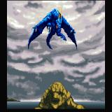 Dragon Spirit Sharp X68000 Intro: captain Amul is transformed into a powerful Blue Dragon
