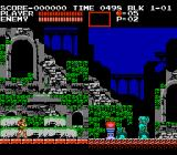 Castlevania III: Dracula's Curse  NES Game Start [Japanese Version]