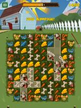 Feeding Time iPhone The player can tap on multiple animals at once to start food combos.
