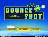 Bounce Shot Browser Title screen and main menu