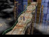 "Legend of Legaia PlayStation Spectacular entrance to Sol - by far the game's largest city and its main ""hub"" with many activities"