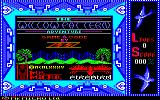 Willow Pattern Amstrad CPC Title Screen.