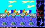 Willow Pattern Amstrad CPC Attempting to cross the river.