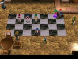Legend of Legaia PlayStation Checkered dance floor in one of the towns